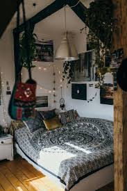 wall decor superb boho bedroom with hanging plants and mixed