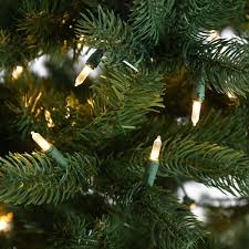 pre lit green bayberry spruce artificial tree