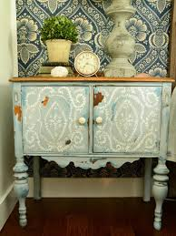 Rustic Charm Home Decor Give Plain Nightstands Rustic Charm With Milk Paint Easy Crafts