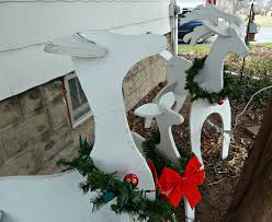 Cheap Outdoor Christmas Decorations by Outdoor Deer Christmas Decorations U2013 Decoration Image Idea