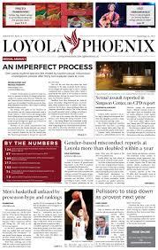 loyola phoenix volume 49 issue 12 by loyola phoenix issuu