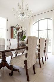 Chair Back Covers For Dining Room Chairs Dropcloth Slipcovers For Leather Parsons Chairs Slipcovers