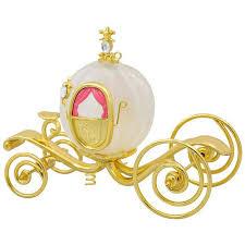 disney cinderella s carriage glass and metal ornament keepsake