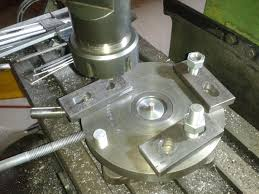 making a rotary table manual rotary table by steamingbill hello after seeing a few