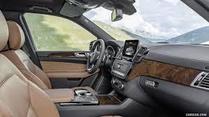 Saddle Interior 2017 Mercedes Benz Gls 350d 4matic Leather Saddle Brown Interior