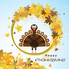 thanksgiving turkey for sale template greeting card with a happy thanksgiving turkey vector