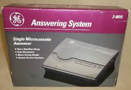 new ge answering machine system 2 9815 1278