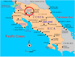 san jose costa rica on map traveling on wednesday october 7th from panama city to san jose