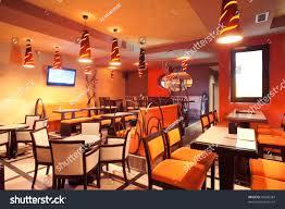 Restaurant Decoration Orange Restaurant Decoration 30 Restaurant Interior Design Color