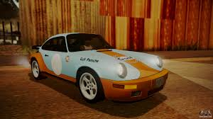 porsche ruf yellowbird ruf ctr yellowbird 911 1987 hqlm for gta san andreas