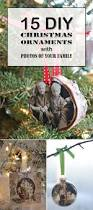 diy christmas ornaments with photos of your family