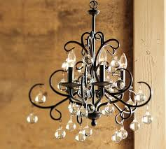 Candle Chandelier Pottery Barn Bellora Chandelier Pottery Barn