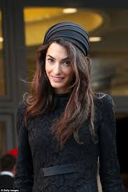 is amal clooney hair one length punters furious after george clooney s wife amal clooney pulls out