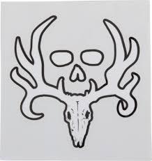 bone collector home decor bone collector white logo decal princess auto