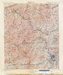 Western North Carolina Map Tennesse Historical Topographic Maps Perry Castañeda Map