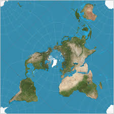 A Picture Of The Map Of The United States by Peirce Quincuncial Projection Wikipedia
