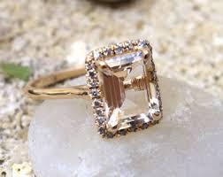 commitment ring ring silver unique diamond alternative promise