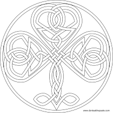 don u0027t eat the paste shamrock coloring page and embroidery pattern