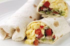 cuisine salsa scrambled egg and tomato salsa wrap recipe goodtoknow