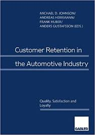 Huber Blue In Kitchen Customer Retention In The Automotive Industry Quality