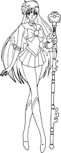 sailor pluto line art 2 by mikey186 on deviantart