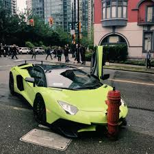 crashed lamborghini lamborghini collides with hydrant in downtown vancouver ctv news