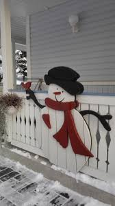 Outdoor Lighted Snowman Decorations by Best 25 Outdoor Snowman Ideas On Pinterest Outdoor Xmas