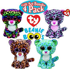 amazon ty beanie boos leopard gift bundle featuring leona