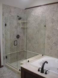 bathroom design easy on the eye open bathroom shower tile glass