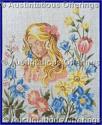 needlepoint petit point canvases