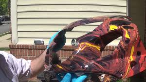 how to wetsand compound polish and wax your motorcycle youtube