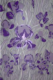 Hand Printed Wallpaper by Contemporary Wallpaper Polyester Floral Pattern Hand Printed