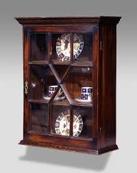 antique display cabinets with glass doors antique wall hanging cabinet display cabinter glazed with glass