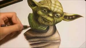 drawing yoda star wars