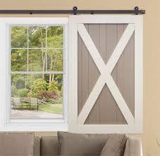 Barn Doors With Windows Ideas Vibrant Ideas Barn Doors With Windows Ideas Curtains