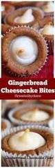 gingerbread cheesecake bites recipe gingerbread cheesecake