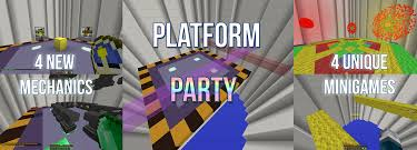 platform party 4 unique games and mechanics maps