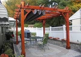 pergola u0026 retractable canopy kits easy to assemble