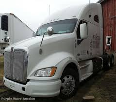 kenworth truck 2012 2012 kenworth t700 semi truck item db5470 sold february