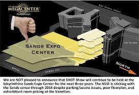sands expo floor plan shot show stays at las vegas sands expo center through 2014
