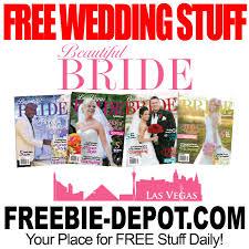 free wedding sles by mail free wedding stuff beautiful las vegas freebie depot