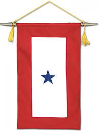 Christian Banner Flags Blue Star Flag Blue Star Service Flags