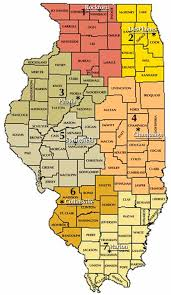 Zip Code Map Illinois by Land And Water Pollution Regional Offices