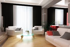 White Modern Living Room Skillful Ideas Black And White Living Room Curtains Stunning 10