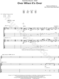 sweater weather guitar chords eric church when it s guitar tab in d major