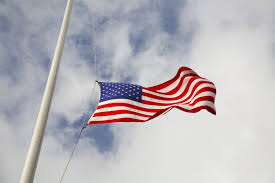 With All Flags Flying Why Is The Flag At Half Staff Until Noon On Memorial Day