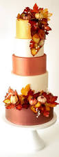 learn to make this fall wedding cake and decor couture cakes