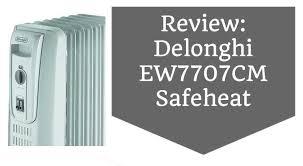 Comfort Temp Delonghi Review Delonghi Ew7707cm Oil Filled Radiator