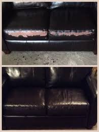 Paint On Leather Sofa How To Fix A Peeling Leather Cleaning Pinterest