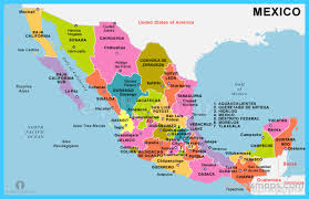 durango mexico map map of mexico vacations travel map